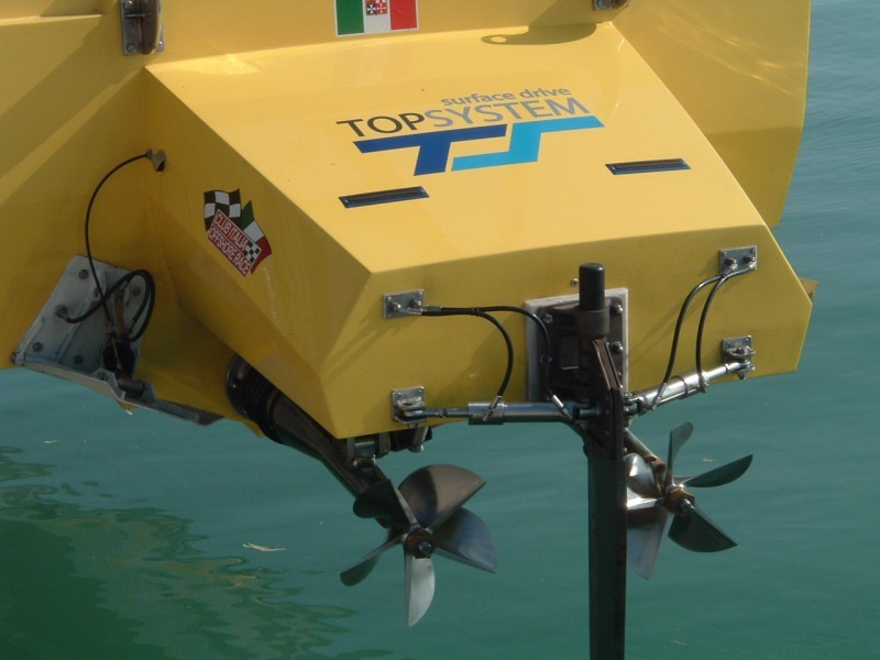Application Surface Drives Top System TT 45 Racing on ZL 43